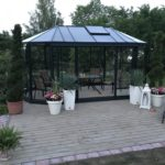 Oval drivhus orangeri – OVALJA