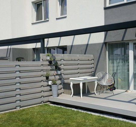 terrassetak til rekkehus